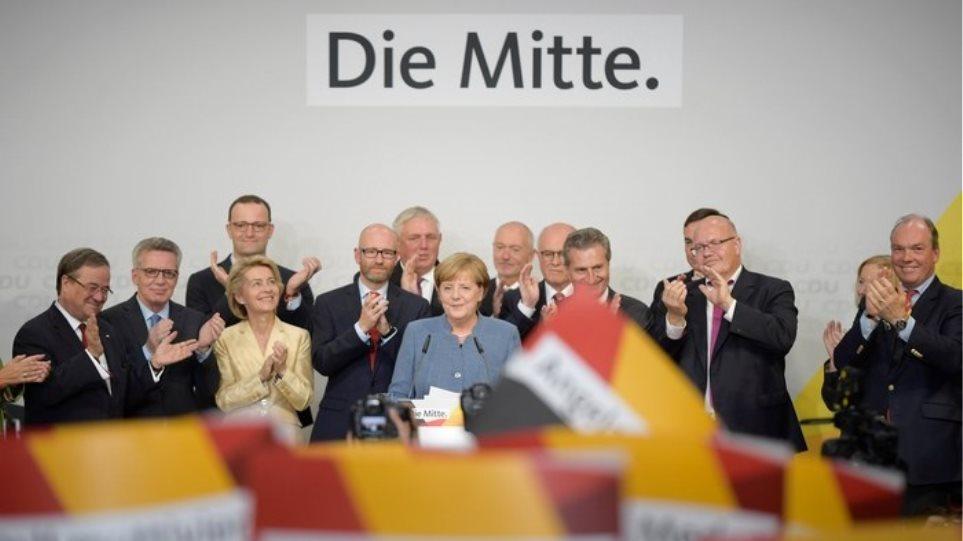 Μέρκελ: Έχουμε εντολή σχηματισμού κυβέρνησης - Πρόβλημα το ΑfD