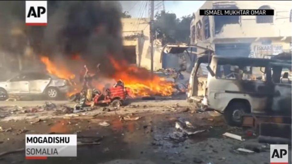 Εκατόμβη νεκρών στην Σομαλία: 189 οι νεκροί από τις δύο βομβιστικές επιθέσεις