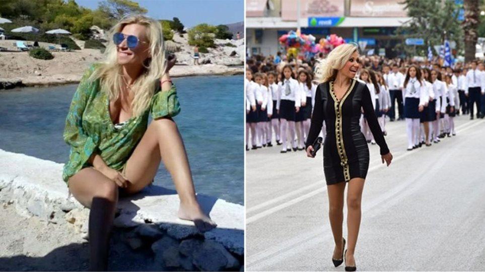 c1dc96be2e «Θέλω να τιμώ τους ήρωες» λέει η δασκάλα που έκανε... πασαρέλα στο Ναύπλιο