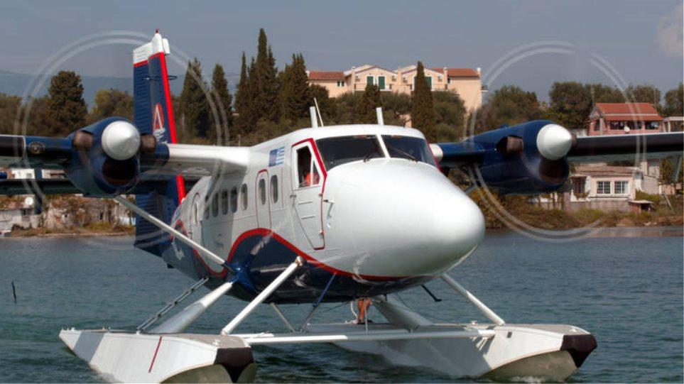 Ξεκίνησαν από την Κέρκυρα οι πρώτες δοκιμαστικές πτήσεις υδροπλάνων στην Ελλάδα