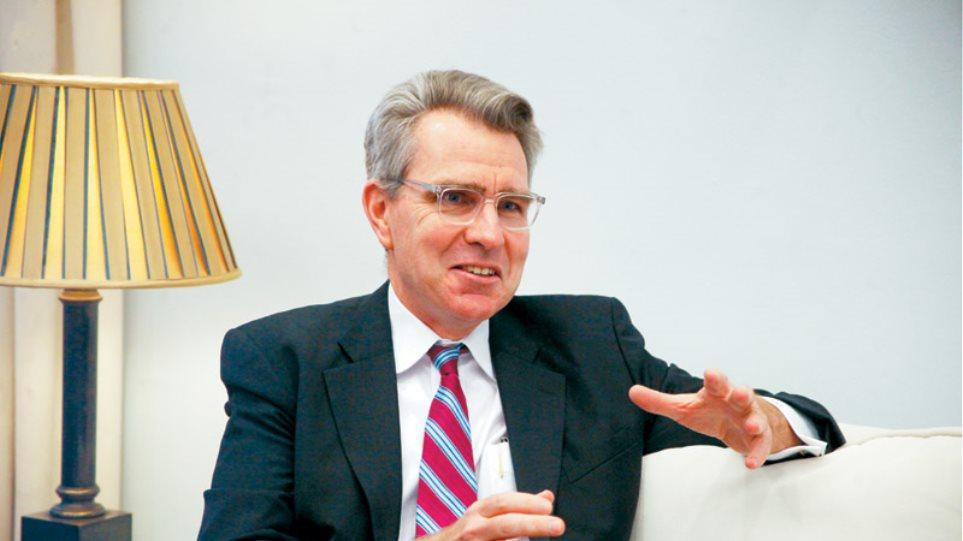 Τζέφρι Πάιατ στο Πρώτο ΘΕΜΑ: Η συνεργασία Ελλάδας-ΗΠΑ στη Σούδα είναι πρότυπο παγκοσμίως