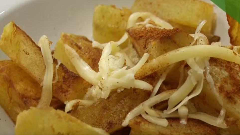 Πώς φτιάχνουμε βραστοτηγανητές πατάτες;