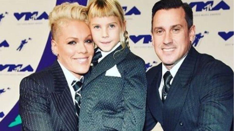 H Pink αποκάλυψε ότι μεγαλώνει τα παιδιά της με... ουδέτερο φύλο