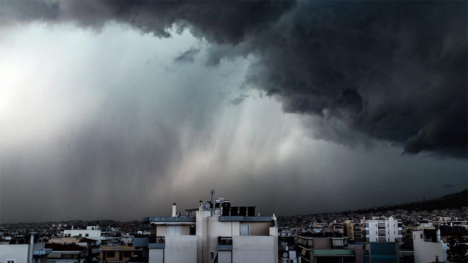 Εκτακτο δελτίο επιδείνωσης καιρού με καταιγίδες και χιόνια