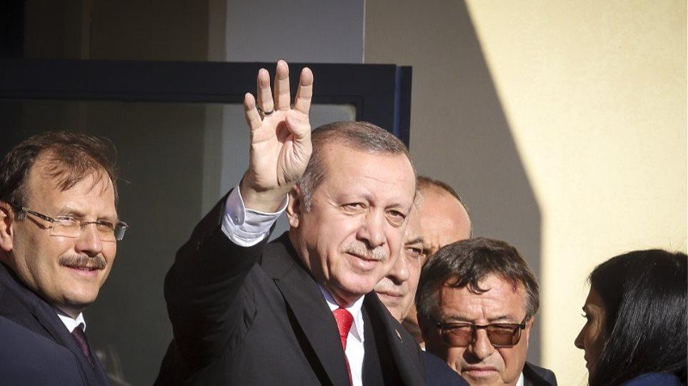 Κομοτηνή: Ο Ερντογάν χαιρέτησε με ραμπιά