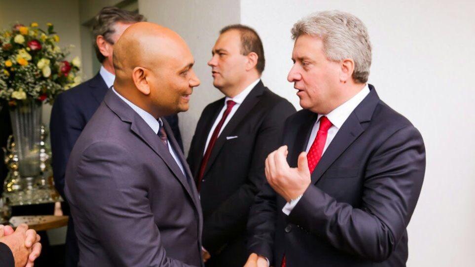 """Πρόεδρος Σκοπίων: «Ινδική προέλευση η ονομασία της """"Μακεδονίας""""»"""