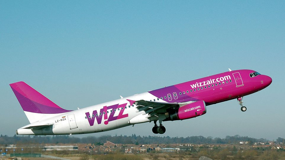 WIZZ AIR: New daily flight Athens – London
