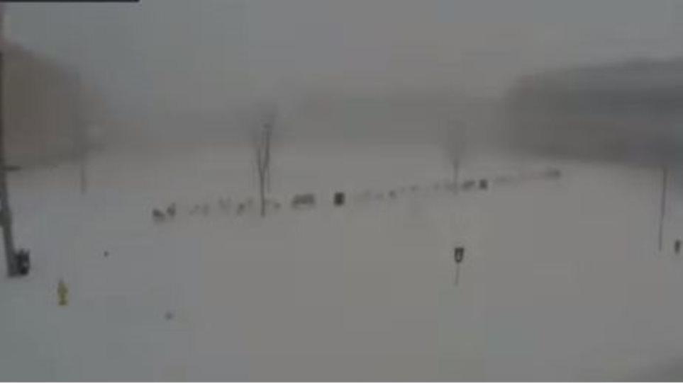 Συγκλονιστικό βίντεο: Ιστορική χιονοθύελλα έσπασε κάθε ρεκόρ στην Πενσυλβάνια