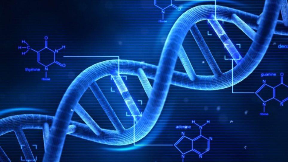 το DNA βγαίνει με τον γενετικό σου αγώνα.