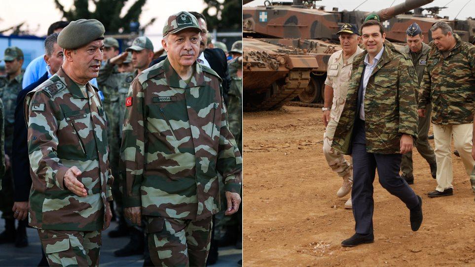 Σοκ και δέος από τη σύγκρουση Ερντογάν με Τσίπρα και Καμμένο