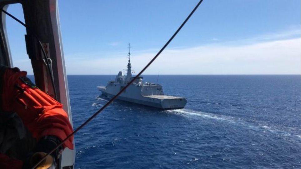 «Θερμό» επεισόδιο στην Αν. Μεσόγειο: Χαμηλή πτήση ρωσικού μαχητικού πάνω από γαλλική φρεγάτα
