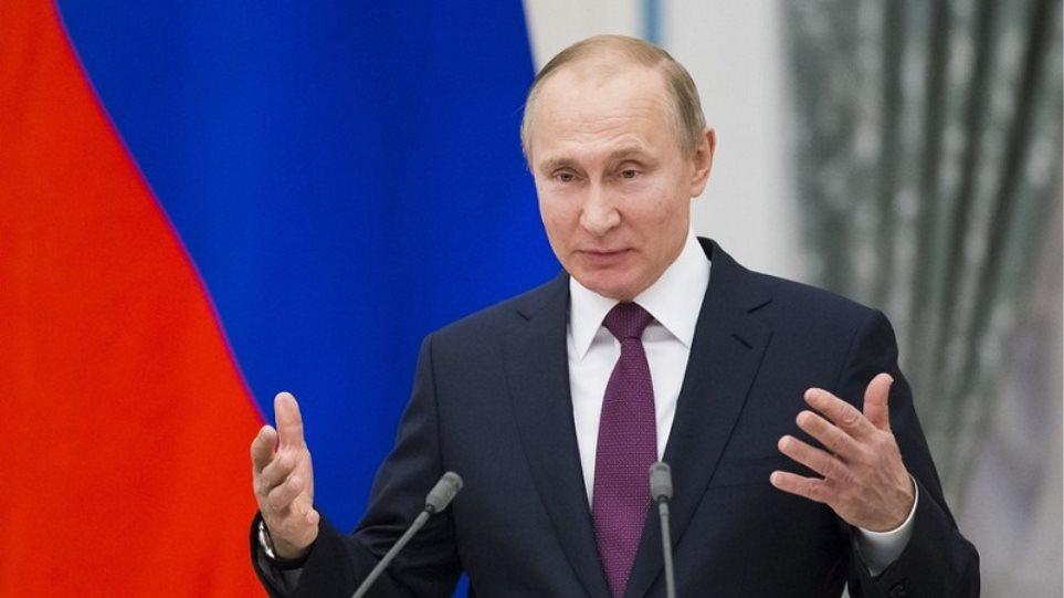 Πούτιν στους Αρμένιους: Λύστε την πολιτική κρίση μέσα σε συνταγματικό πλαίσιο