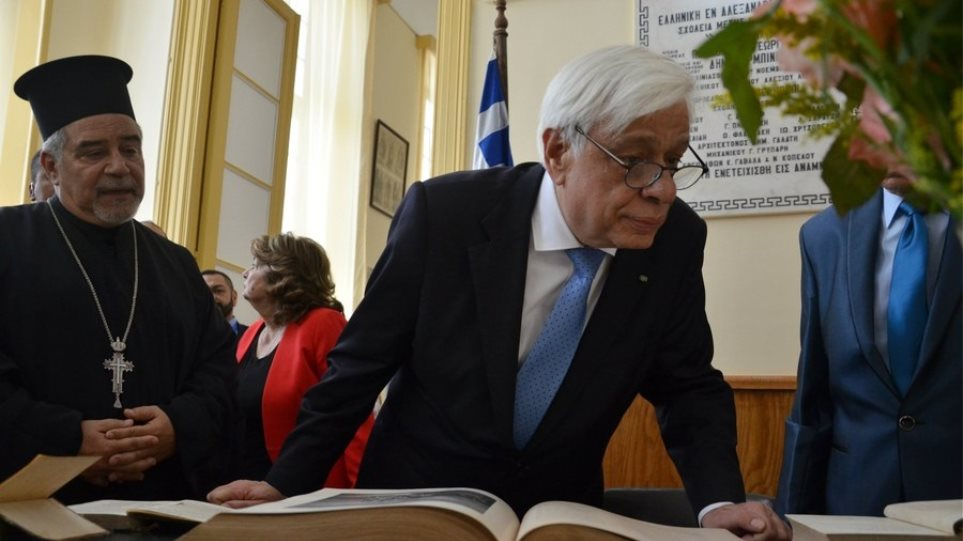 Παυλόπουλος με Σίσι και Αναστασιάδη: Η οριοθέτηση της ΑΟΖ θα γίνει με πλήρη σεβασμό στο Διεθνές Δίκαιο