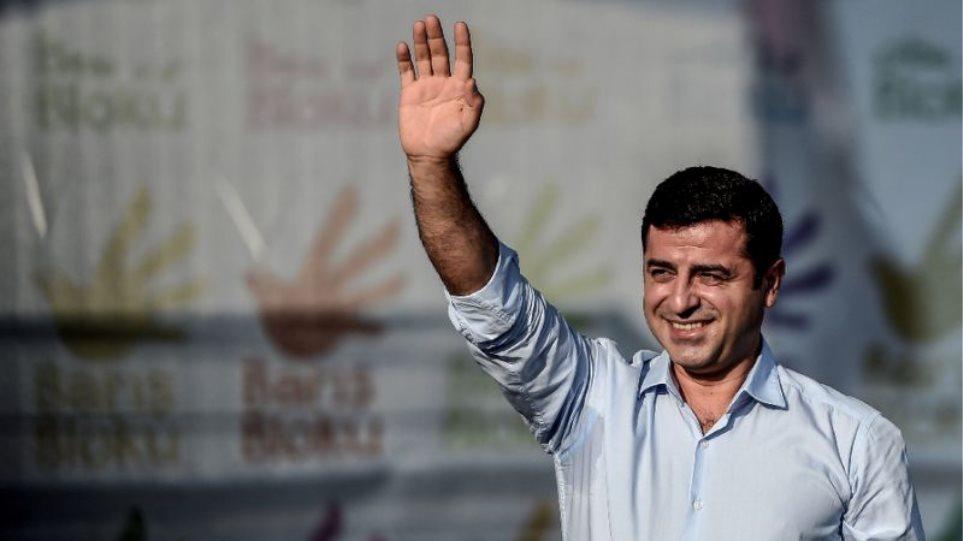 O Σελαχατίν Ντεμιρτάς θα είναι υποψήφιος πρόεδρος της Τουρκίας