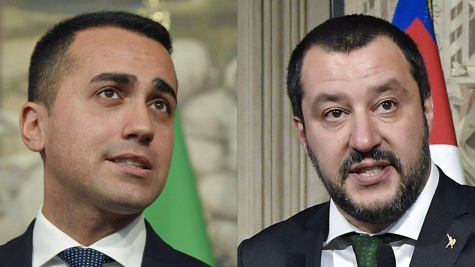 Συμφωνία Πέντε Αστέρων και Λέγκας για κυβερνητικό σχήμα