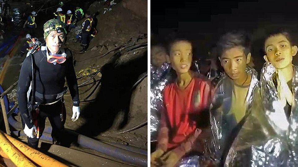 Ταϊλάνδη: «Περιορισμένος» ο χρόνος να σώσουμε τα παιδιά παραδέχονται για πρώτη φορά οι διασώστες