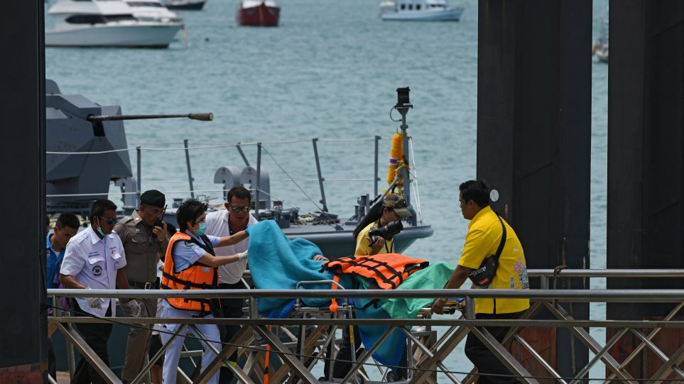 Νέο δράμα στην Ταϊλάνδη: 27 νεκροί από βύθιση τουριστικού σκάφους στο Πουκέτ