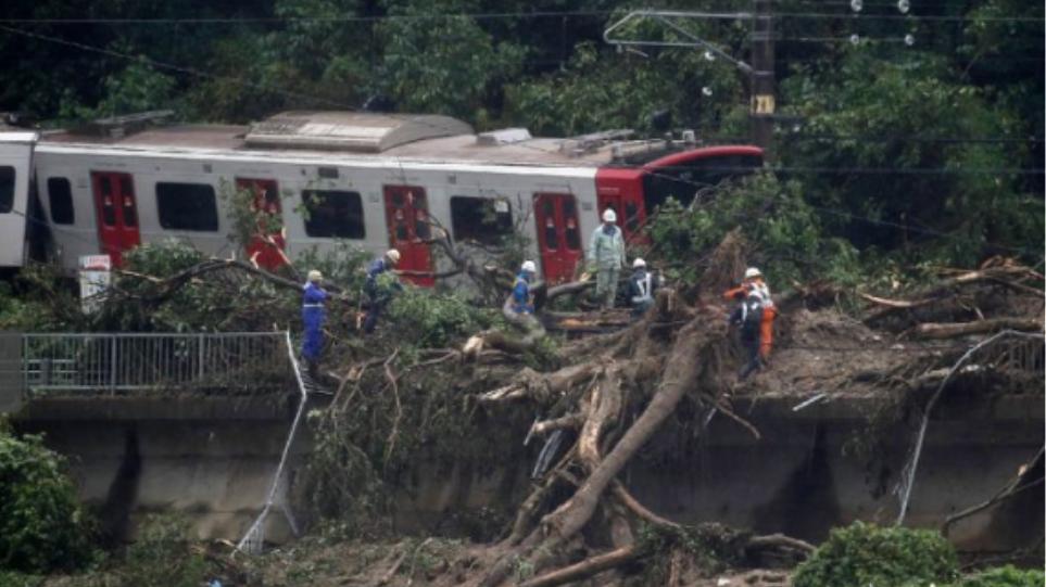 Ασύλληπτη τραγωδία στην Ιαπωνία: Στους 100 οι νεκροί από τις πρωτοφανείς πλημμύρες