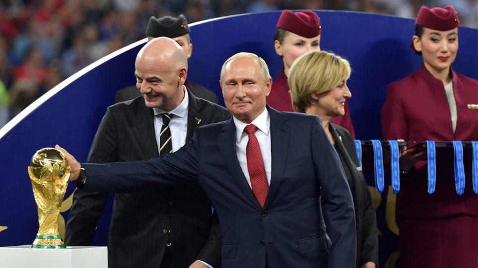 Πούτιν: Μπορούμε να είμαστε περήφανοι για τη διοργάνωση του Μουντιάλ 2018