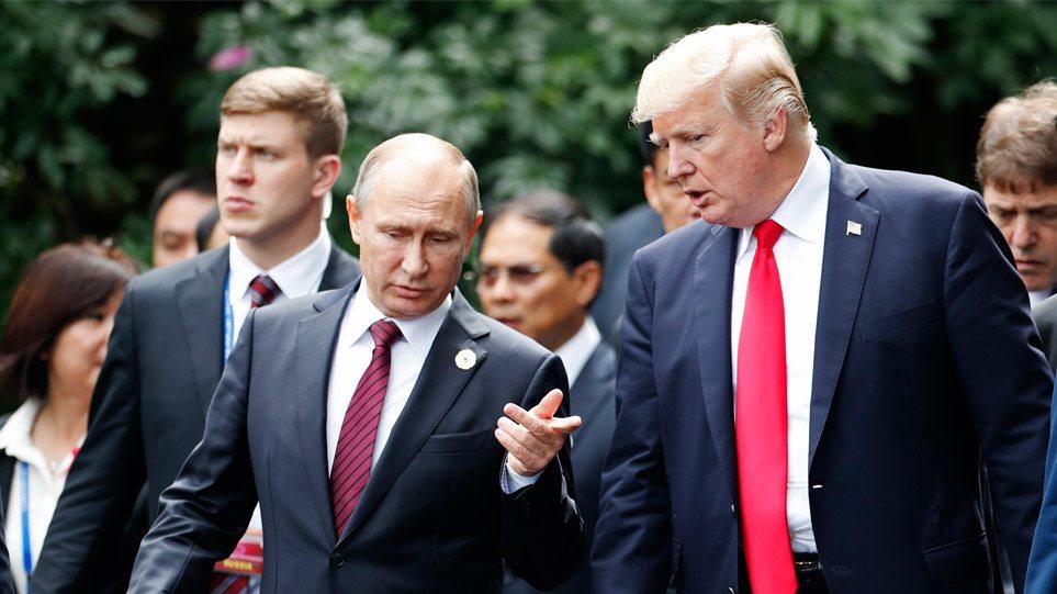 Τετ-α-τετ Τραμπ - Πούτιν στη «σκιά» και των απελάσεων από την Αθήνα