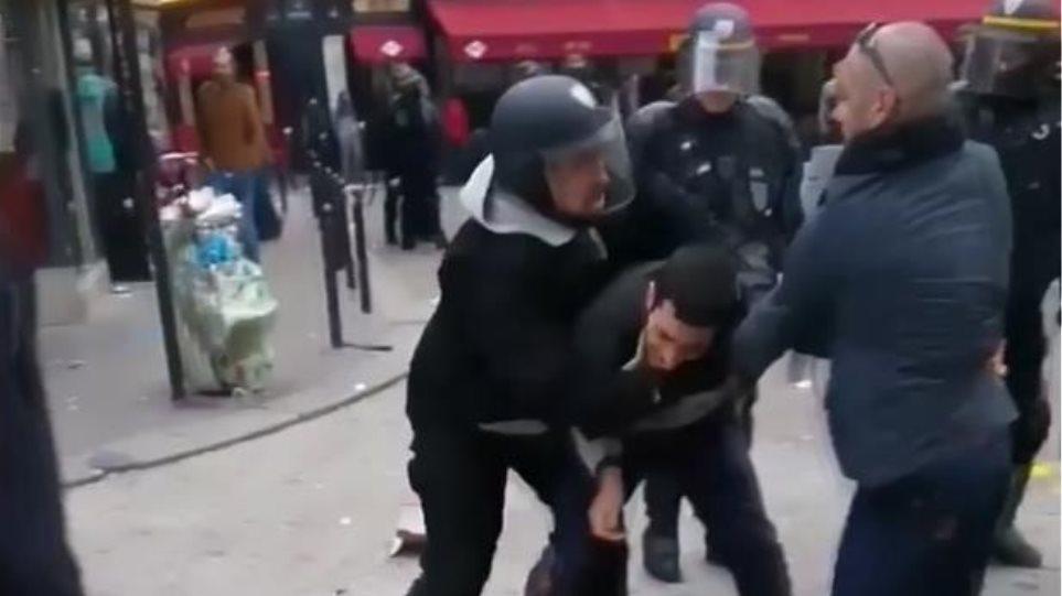 Γαλλία: Παρατείνεται η κράτηση των Μπεναλά, Κρας για τον ξυλοδαρμό του διαδηλωτή