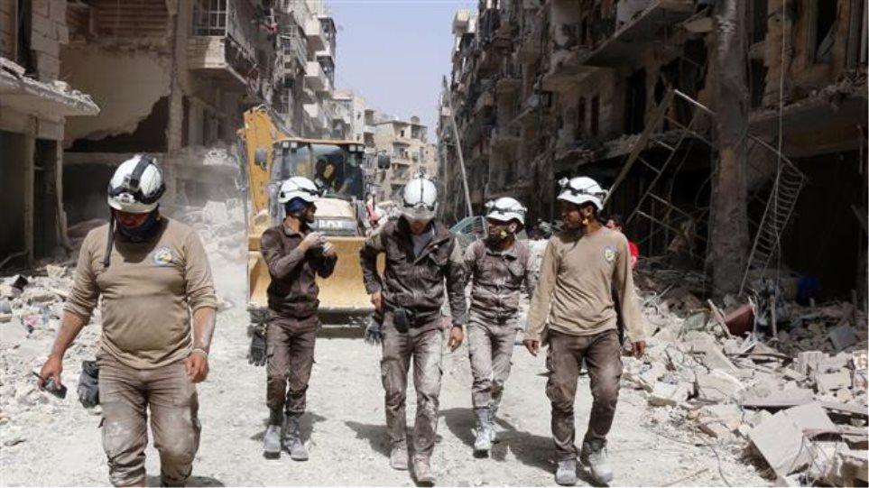 Το Ισραήλ «απέσυρε» τα «Λευκά Κράνη» από τη Συρία