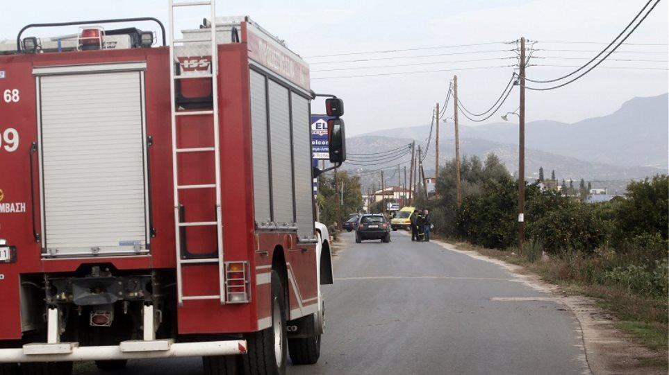 Φωτιά στην Κερατέα - Μεγάλη κινητοποίηση της πυροσβεστικής