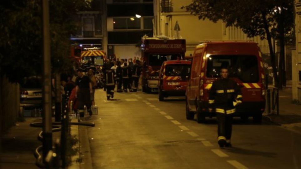 Παρίσι: 19 τραυματίες από φωτιά σε διώροφο κτίριο - Πέντε παιδιά σε σοβαρή κατάσταση