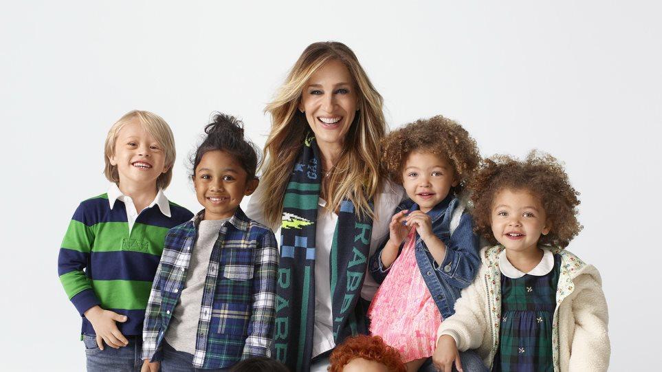7f5a878d496 Η Sarah Jessica Parker σχεδιάζει παιδικά ρούχα