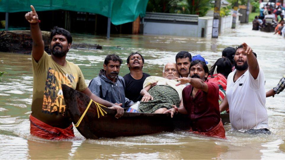 Ανείπωτη τραγωδία στην Ινδία: Τουλάχιστον 445 οι νεκροί από τις πλημμύρες στην Κεράλα