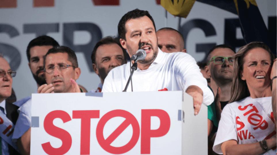 Η Λέγκα του Βορρά πρώτο κόμμα στην Ιταλία σύμφωνα με γκάλοπ