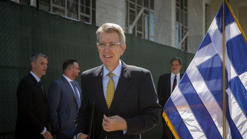 Τζέφρι Πάιατ: Η ΔΕΘ είναι μόνο μία στάση σε ένα μακρύ κοινό ταξίδι για ΗΠΑ και Ελλάδα