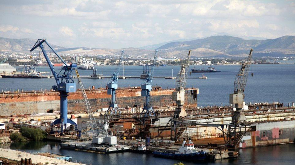 Αμερικανικό ενδιαφέρον για τα ναυπηγεία Ελευσίνας