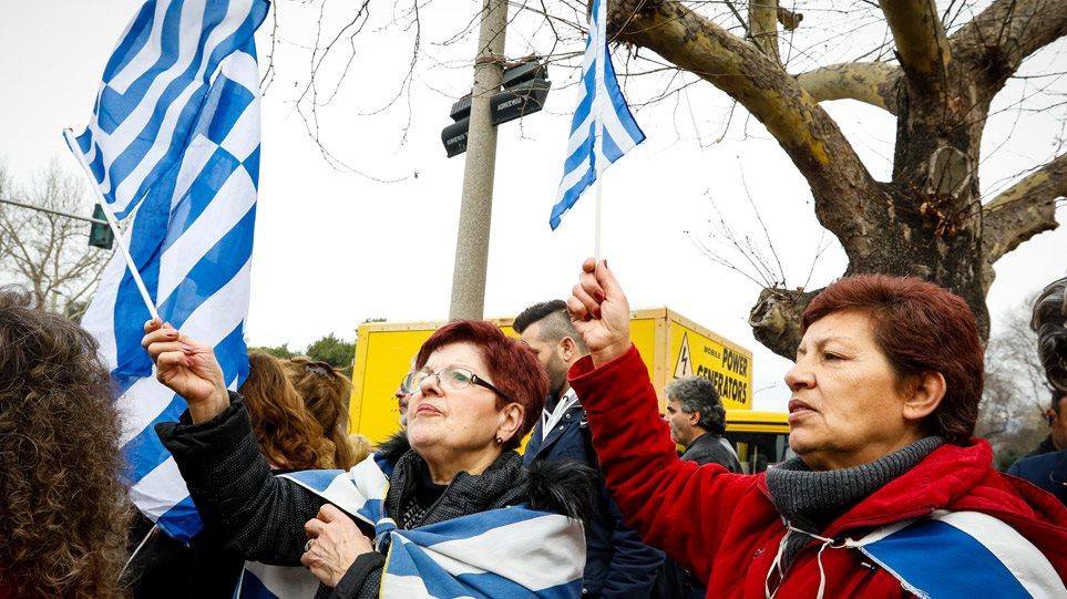 ΔΕΘ 2018: Συλλαλητήριο για τη Μακεδονία, την ώρα των εγκαινίων από Τσίπρα
