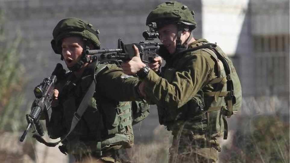 israeli-soldiers-firing