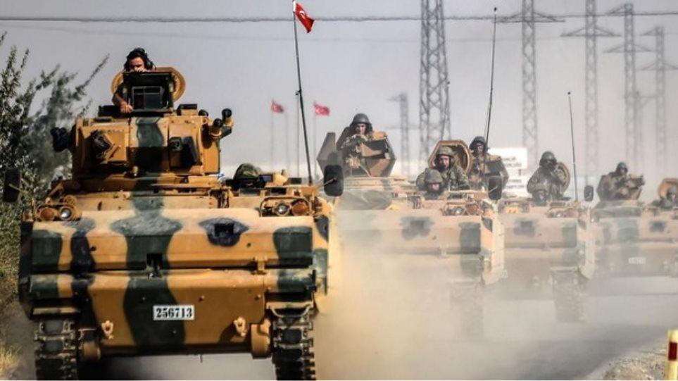 Οι Τούρκοι ενισχύουν με στρατό και τανκ τις κατεχόμενες περιοχές στη Συρία
