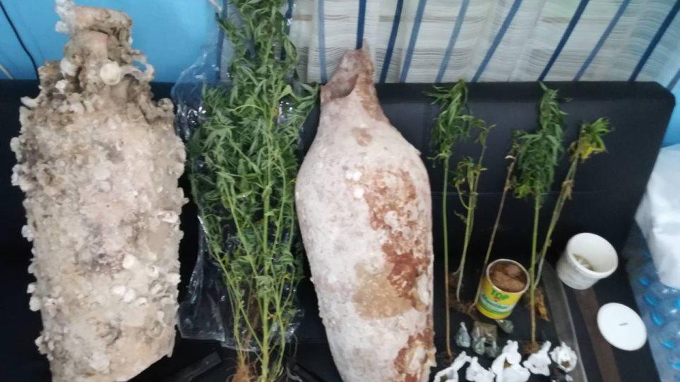 Kalymnos-arxaia-opla-narkwtika