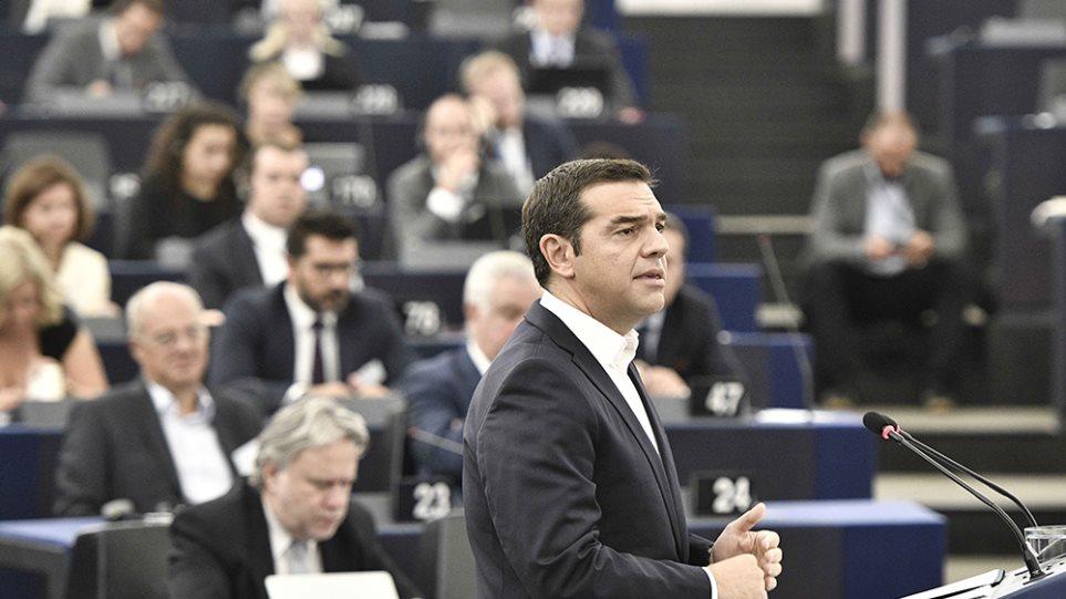 Σφοδρές αντιδράσεις για τα «νεύρα» Τσίπρα στο Ευρωκοινοβούλιο