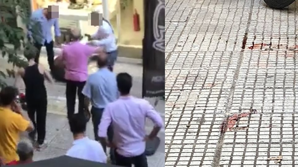 Βίντεο - σοκ από την απόπειρα ληστείας στην Ομόνοια με νεκρό τον δράστη 4c765947428