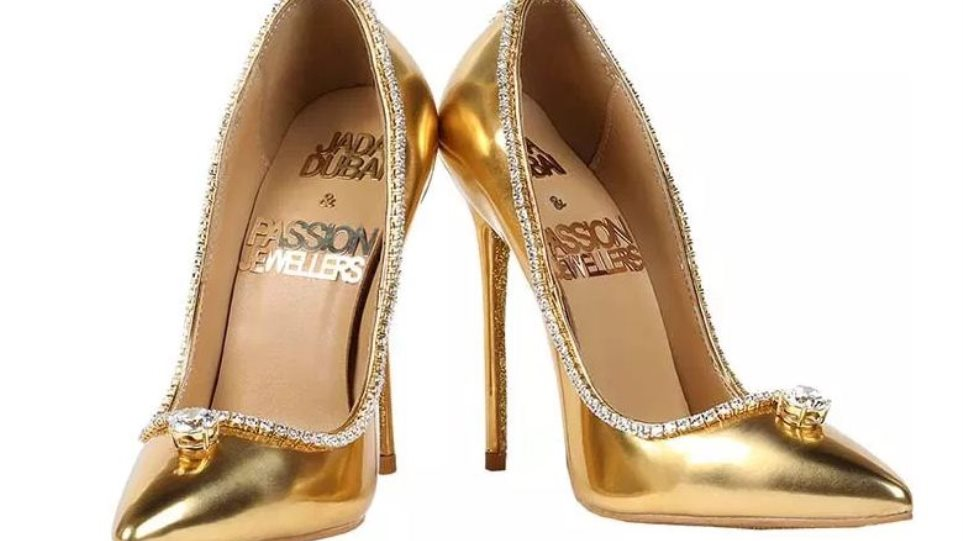 5ff9f763f43 Το ακριβότερο παπούτσι στον κόσμο: Χρυσές γόβες με διαμάντια πουλήθηκαν  έναντι αστρονομικού ποσού στο Ντουμπάι!