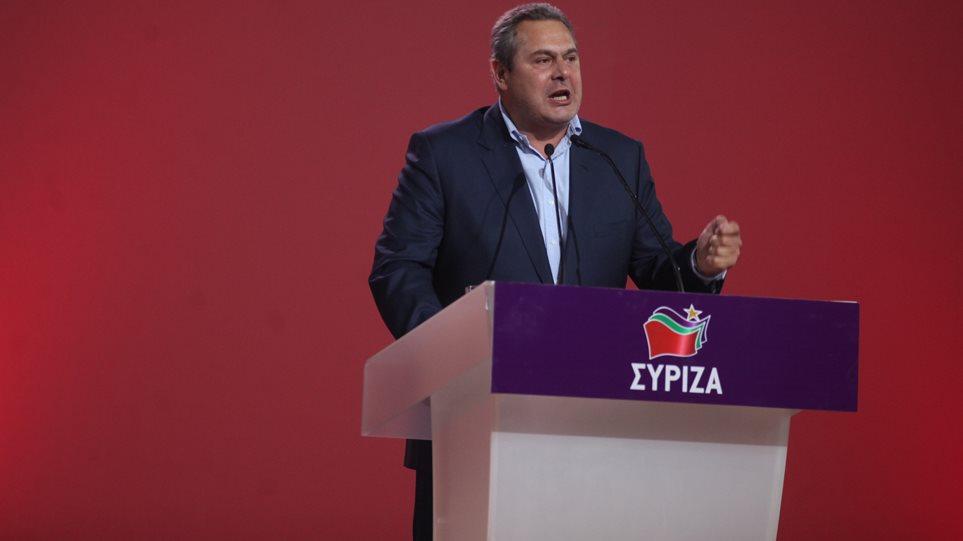 Όλος ο ΣΥΡΙΖΑ κατά του «συντρόφου» Καμμένου για τις προτάσεις του στις ΗΠΑ