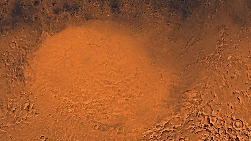 Η «Ελλάς» του πλανήτη Άρη είχε κάποτε πολλές αλλά εφήμερες λίμνες νερού