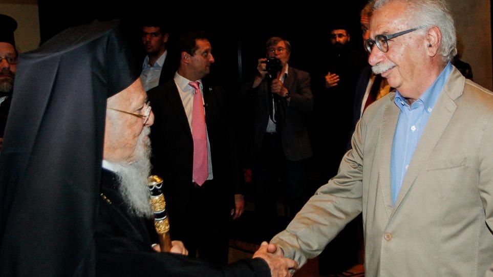 Στο Φανάρι ο Γαβρόγλου - Δίνει εξηγήσεις στον Πατριάρχη για τη συμφωνία Τσίπρα - Ιερώνυμου