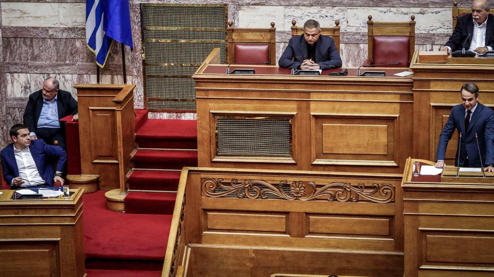 Μητσοτάκης: Ο νόμος για το άσυλο θα καταργηθεί - Τσίπρας: Δεν θα αρνηθούμε τα προβλήματα