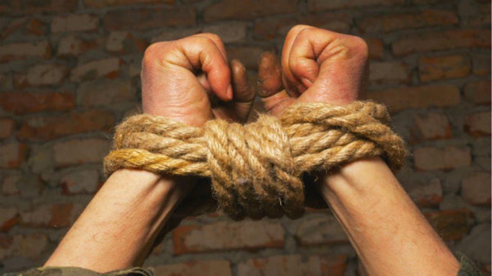 hands-bound