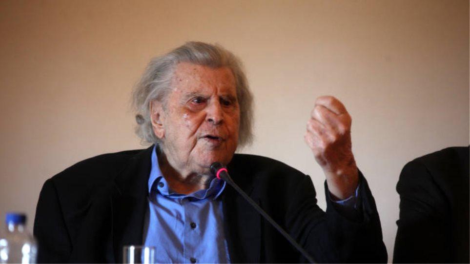 Ο Μίκης Θεοδωράκης καταγγέλλει: Αντικείμενο διωγμού το έργο μου