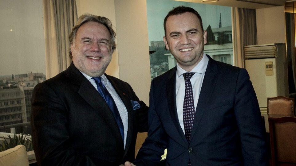 «Εικασίες ό,τι ακούγεται για ονόματα ή προτάσεις» δήλωσε ο αναπληρωτής πρωθυπουργός των Σκοπίων