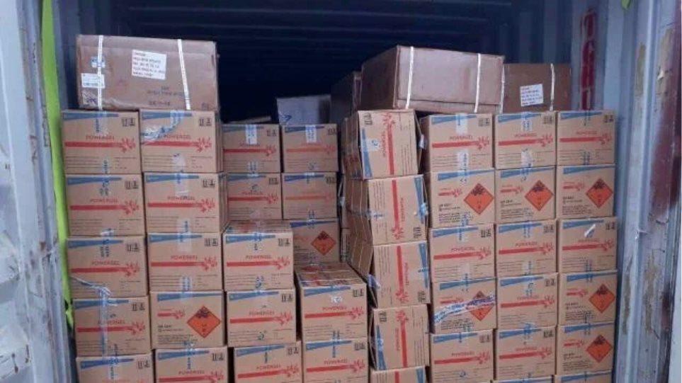 Ηράκλειο: Αγωνία για το πλοίο-βόμβα με τους 410 τόνους εκρηκτικά