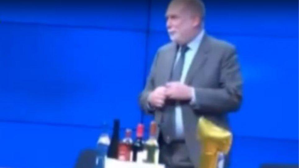 Με Ζορμπά και ούζο αποχαιρέτησαν τον Τόμας Βίζερ οι Βρυξέλλες