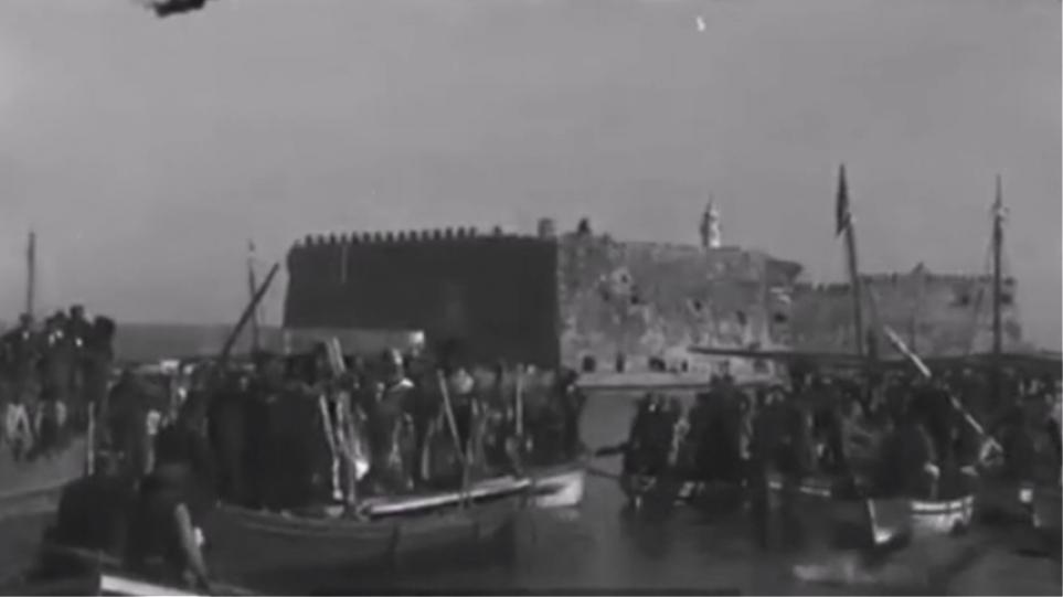 Σπάνιο βίντεο με κινηματογραφικές εικόνες από την Κρήτη του 1910!